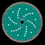Алмазные отрезные диски Heller Turbo Cut